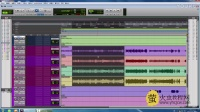 Pro tools视频教程-9.Aux轨道的运用-萤火虫教程网