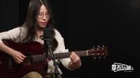 你快乐所以我快乐-王菲-美女弹唱-摩杰吉他教学