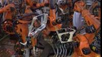 库卡机器人涂胶点焊生产线