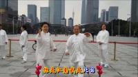 八城千人健身气功大型展示活动(广州市海珠区上涌太极队留影典藏)