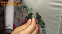 御针坊手工刺绣diy圆扇-牡丹教程(1).mp4