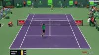 【2017迈阿密网球赛男单决赛】费德勒vs纳达尔(2:0) 4连胜夺个人第91冠