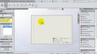 SolidWorks Drawing Tutorial 127_ Creating ur 1st Drawing