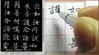 柳公权金刚经第一遍临帖 (8)