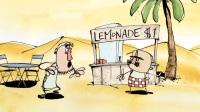 超赞创意 简洁生动 比利时独立动画短片 Fata Morgana 海市蜃楼 又名:蜃景 珍贵的~不只会消失在沙漠!