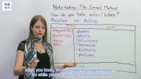 专业英语听力-艾玛英语-康奈尔学习法!