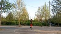 梦娟原创单人水兵舞《黄土地上黄》最新梦娟广场舞
