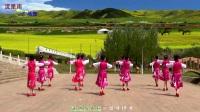 广场舞《草原不寂寞》子龙明星队流星雨舞蹈队.mp4