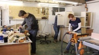 April Wilkerson木工 制造英国史密斯木做凳子 Building a Stool in the UK with J Smith Woodwork