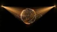 780 科技地球光线投射全息图像扫描线地球视频制作素材AE模板