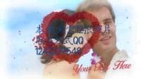 电子相册(12终生浪漫)爱心玫瑰花瓣飘散的婚礼影像展示 Roses Wedding Album