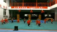 莱州中华武校央视春晚大型原创节目《剑心书韵》武术创意表演排练