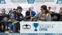 SCGATL - Round 3 - Brad Carpenter vs Jadine Klomparens