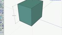 SketchUp视频教程 3-1-4面的移动与复制