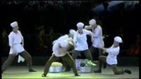 朝鲜宣传舞蹈(给养马车在奔驰 2017年演出)
