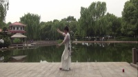 雪冰青春活力广场舞《梁祝》(笛声版)原创古典舞;编舞;演示;雪冰