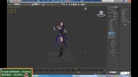 3Dmax游戏建模-3Dmax角色建模系列女性人物模型制作二