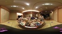 姐妹团共享温泉美食VR视频
