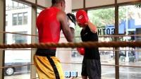【中文字幕】新手拳击教学:四连击训练方法【AdamColberg篇】【第22集】