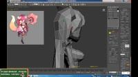 3Dmax游戏建模-3Dmax角色建模教程女性人体模型制作-服装部分六