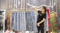 汇美服装批发-时尚女款牛仔裤30件起批26元一件--523期