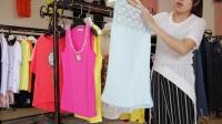 汇美服装批发-夏装女款小背心20件起批11元一件--525期