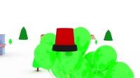 👶儿童节特集👶 火车泰德 🚄 第10集  🐮学习农场的动物
