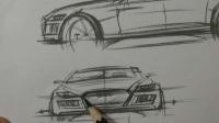 黄山手绘-内训课程汽车怎么画1