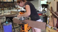 April Wilkerson木工 制作胡桃餐桌 How to Build a Dining Table - Walnut Breadboard Ends