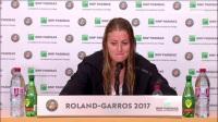 梅拉德诺维奇2017法网R3赛后新发
