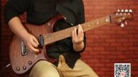 卖时光北美正品音色演示视频 Musicman BFR JP15  虎纹 蓝黄两色