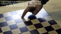 mtmwood木工拼板 抛木纹棋盘Polishing an end grain chessboard