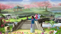 黄山紫纤广场舞《书房门前一枝梅》