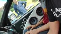 汽车音响试听现场,GLADEN和Mosconi,听众玩得挺嗨!(一)