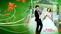 33、会声会影X9婚礼模板-绿色温馨相册