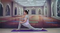 瑜伽初级教学视频大全 一字马的教学