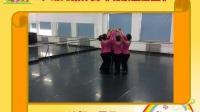 2、幼儿集体舞《北京金山上》