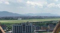 杭州萧山机场,飞机降落!