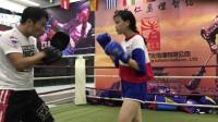 子健搏击业余女会员训练
