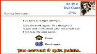 y_the life of cesar chavez_quiz