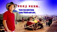 苗族故事-Hmong dab neeg-4-dab neeg nas thov kev pab ntawm qaib npua