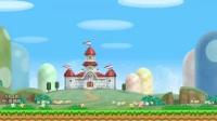 """【小Q解说】新超级马里奥兄弟Wii同人改版""""The third levels""""1-1攻略流程"""