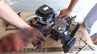 豪悍增程器 更换缸头调节气门视频