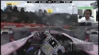 F1 2017 游戏 比利时 50%正赛