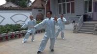 固村太极健身队创建近三年,他们勤学苦练,目前学会了24,48