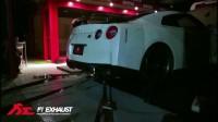 日产 Nissan GT-R 2017 x Fi Exhaust - 电闪雷鸣