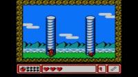 小毓实况解说fc怀旧游戏《冒险岛4》第二大关 炎热的火山