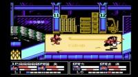 小毓实况解说fc怀旧游戏《热血格斗》第一期,我被虐惨了