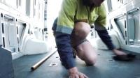 DIY 房车改装过程 奔驰斯宾特(1)拆除原车部件