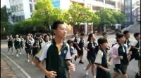 20170919初一(4)班晨起跑操(许老师拍摄)